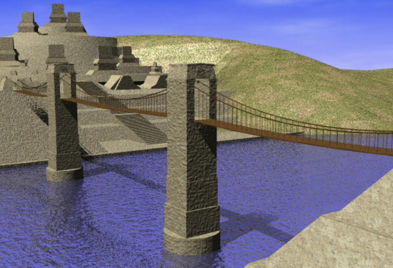 H-2 BRIDGE computer Rendering