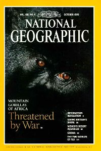 National Geographic Oct 1995 cover